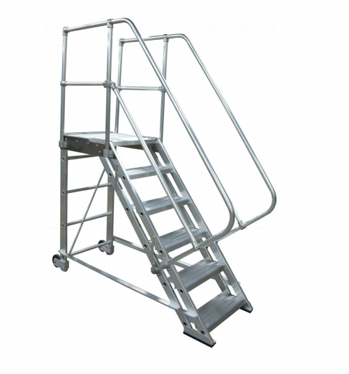 Rolling Aluminum Stairs