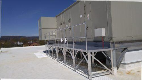Custom Work Platform 3 foot wide