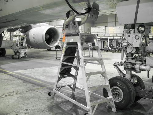 Aircraft Maintenance Ladder Six Foot