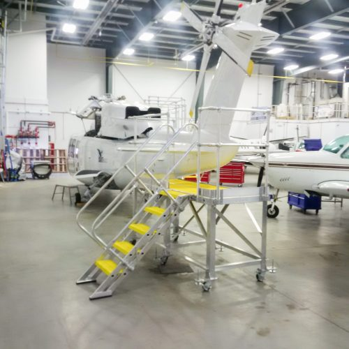 S 76 Tail Rotor Stand