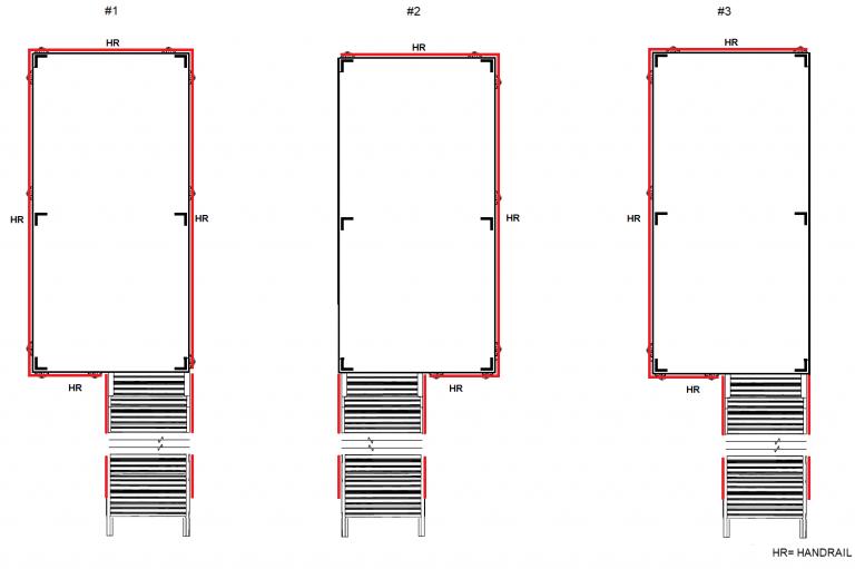 Rolling Work Platforms Configuration